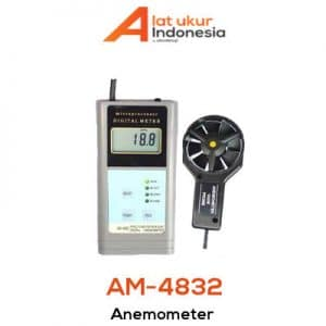 Digital Anemometer AMTAST AM4832