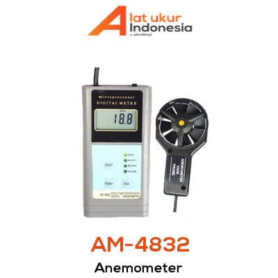 Digital Anemometer AMTAST AM4832